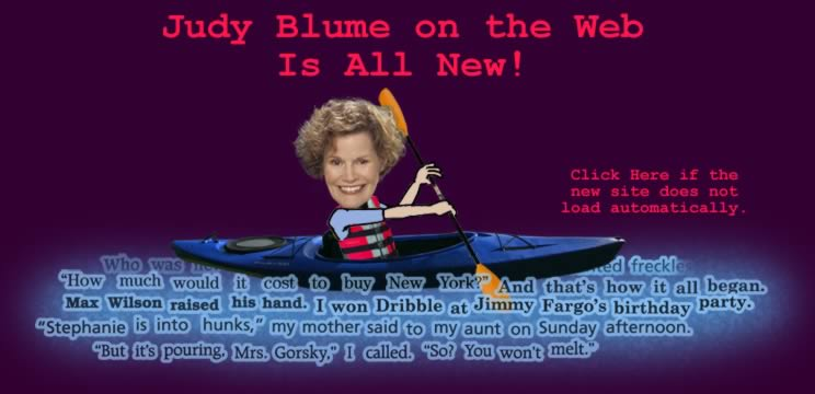 Judy Blume On The Web