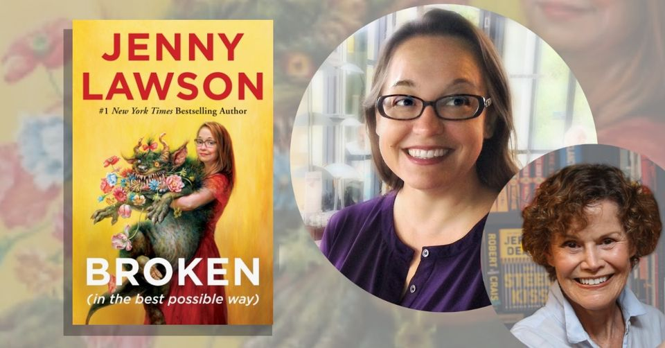 A Virtual Evening with Jenny Lawson in conversation with Judy, April 13 at 8:00pm ET